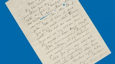 Ingeborg Stuckenberg (1866-1904) skrev digte og prosa, men fungerede mest som muse for ægtemanden Viggo Stuckenberg og hans digterkreds. Hun blev tiltagende desperat over ikke selv at få plads til at udtrykke sig kunstnerisk. I 1902 sejlede hun derfor med sin elsker Hans Dines Madsen til New Zealand, hvor hendes bror havde slået sig ned. Emigrationen var ikke nogen succes, og brevene til søsteren fra 1903 beskriver de udfordringer, tilværelsen bød hende her. Året efter, i 1904, tog hun sit eget liv.