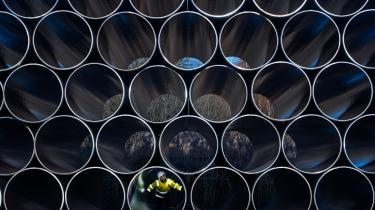 Gazprom har allerede indledt anlægningen af Nord Stream 2.