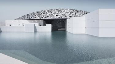 Louvres nyåbnede 'satellitmuseum' i Abu Dhabi er tegnet af den franske stjernearkitekt Jean Nouvel.
