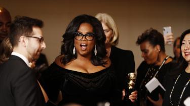 Ved den årlige Golden Globe-prisuddeling i Hollywood i søndags vandt Oprah Winfrey en Cecil B. DeMille Award, der gives for 'fremragende bidrag til underholdningsverdenen'.