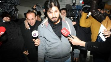 Reza Zarrab blev anholdt i Tyrkiet i 2013 (billedet) for sin guldbarreoperation, men senere løsladt. I 2016 belv han indhentet af fortiden, da han blev tilbageholdt i Miami, USA, på vej til Disneyland.