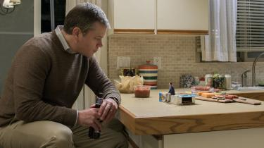 Matt Damon spiller i 'Downsizing' hoverollen som Paul, der bliver formindsket. Filmen er instrueret af Alexander Payne