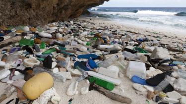 Hvert år ender op mod 13 millioner ton plastikaffald i havene. Der menes at være ophobet 5.250 milliarder stykker plastik – store som små – i havene, og hvis udviklingen fortsætter, vil der i 2050 være flere kilo plastik end fisk. Plastik, som det kan tage naturen århundreder at nedbryde.
