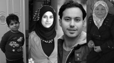 Abdallah, Fadhila, Muthanna og Sumaiya Hadid blev dræbt i et luftangreb 22. april 2015. Efter i to et halvt år indrømmede koalitionen IS at stå bag bombardementet.