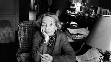 Franske Marguerite Duras (1914-1996), fotograferet i Paris, 1993.