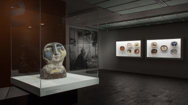 Livsglad kunst i triste glaskasser: Picasso på Louisiana.