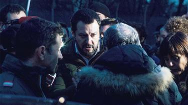 Siden Matteo Salvini overtog formandsposten i Lega, har partiet bevæget sig fra at være i knæ til at stå til at få 14 procent at stemmerne ved det italienske valg