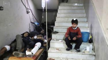 Bombardementerne i det østlige Ghouta er taget voldsomt til i denne uge og har ført til et utal af civile dræbte og sårede på behandlingsstederne i Damaskusforstaden.