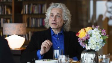 Vaskemaskinen er eksempel på den bærende pointe i den amerikanske psykolog og offentlige intellektuelle Steven Pinkers nye bog 'Enlightenment Now';Vi er omgivet af fremskridt, som vi ikke bemærker.
