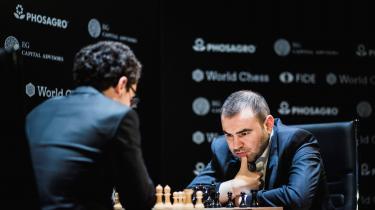 Den karismatiske aserbajdsjaner Shakhriyar Mamedyarov besejrede Magnus Carlsens udfordrer i VM-matchen i New York 2016, russeren Sergej Karjakin.