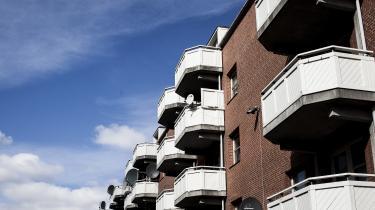 Nøglen til at forstår ghettodannelsen ligger i dansk ghettolitteratur , mener dagens kronikør. Her er det Mjølnerparken i København.