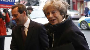 Theresa May får hug for at indgå en overgangsaftale på EU's præmisser. Men hun har for en gangs skyld grund til optimisme