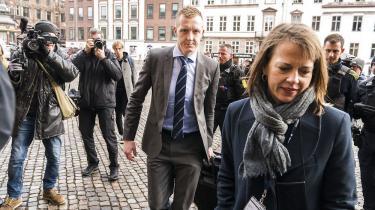 Anklager Jakob Buch-Jepsen ankommer til Københavns Byret