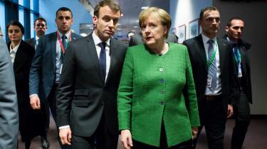 Hvor Paris partout ønsker yderligere integration – evt. i et EU i flere hastigheder – er Tysklands øverste prioritet derimod EU's sammenhold og det indre marked.