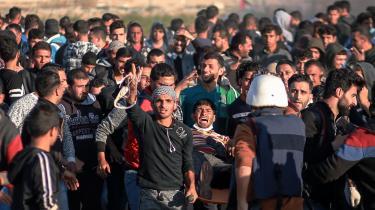 Fredag indledte30.000 palæstinenskedemonstranter'Den store March mod Tilbagevenden', der vil fortsætte frem til den 15. maj.