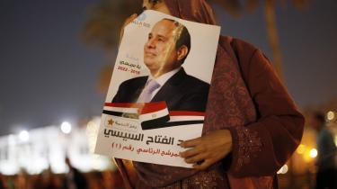 Abdel-Fattah al-Sisi blev i den forgangne uge genvalgt som Egyptens præsident