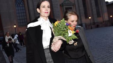 Sara Danius forlader posten som leder af Det Svenske Akademi, der hvert år uddeler Nobelprisen i litteratur.