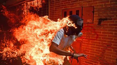 Venezuelas Ronaldo Schemidt har taget årets pressefoto