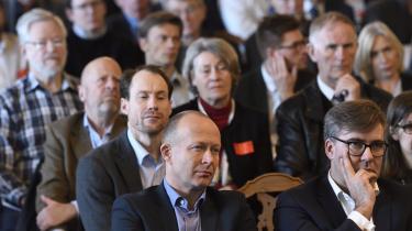 Ifølge dagens kronikør er det forkert, når Rune Lykkeberg anfører, at kritikken af overvågning bor på venstrefløjen, for den deles af så forskellige aktører som Zenia Stampe (De Radikale) og tænketanke som Cepos og Justitia, ligesom Liberal Alliance også har været med. Her er det fra et Cepos-arrangement om en ny energiaftale i februar i år.