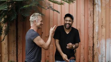 Sting og Shaggy forenes i airbrushet udgivelse