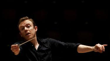 Den britiske dirigentDaniel Harding(f.1975) ledte Wienerfilharmonikerne an i Koncerthuset den 29. april.