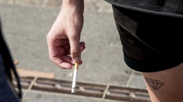 Jeg synes slet ikke, at det er så sært, at de unge lige nu får ekstra meget lyst til at ryge. Det er jo første gang, siden James Dean smed sig på en køler og tændte en smøg, som tændte han ild til bomben, der ville smadre verden af i går, at rygning er oprør.