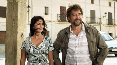 Laura (Penélope Cruz) og Paco (Javier Bardem) før helvede bryder løs i Asgar Farhadis familiedrama og Cannes-åbningsfilm, 'Everybody Knows'. Foto: Memento Films