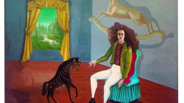 Selvportræt. 'A l'auberge du cheval d'aube' (Daggryhestens Herberg). 1937-38 Metropolitan Museum of Modern Art, New York