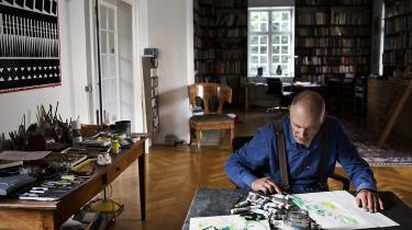 »Jeg tror, Per Kirkeby kan stå som en stor autoritet for mange yngre kunstnere i Danmark – faktisk uanset om man deler hans stil, hans æstetiske valg,« skriver Poul Erik Tøjner i en mail til Information.