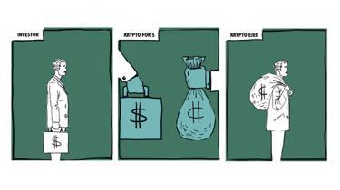 I kølvandet på bitcoin har iværksættere, finansfolk og fribyttere fået et nyt værktøj til at skaffe penge. ICO'er er digital crowdfunding ved hjælp af kryptovalutaer. En kunstig børsnotering uden regulering. Der bliver rejst milliarder i et voksende tempo. På kort sigt bliver der også svindlet og gamblet. Men der er også seriøse spillere. Og på længere sigt kan både ICO, bitcoins og en lang række andre finansielle instrumenter blive dagligdag