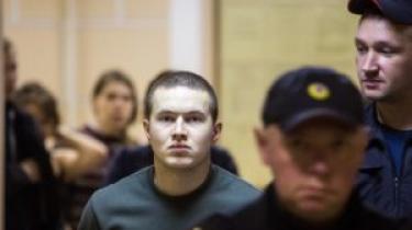 'Adskillige brændemærker fra elektrisk stød på hele overfladen af højre hofte. Blodansamling på højre ankel. Brændemærker fra elektriske stød i brystregionen,' lyder observationerne i den civile vagthundorganisation ONK's rapport fra det første fængselsbesøg hos Viktor Filinkov, som blev anholdt i januar.