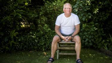Lars Ahlstrand er på efterløn, men har en fortid som ledende socialrådgiver i psykiatrien. Han er formand for Rødovres Udsatteråd, der for tiden arbejder for bedre tandsundhed til kommunens udsatte.