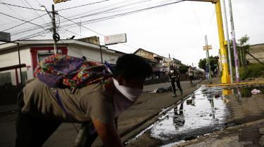 Tidligere tog Nicaraguas præsident, Daniel Ortega, på årlige pilgrimsture til Masaya, der er arnested for sandinismen. Nu forlanger byens indbyggere, at han træder af som præsident