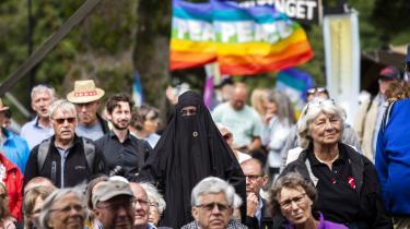 Folkemødet i Allinge på Bornholm gik for alvor i gang torsdag. Her går diskussionen blandt andet om borgerforslag, som blev indført fra årsskiftet