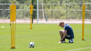 Det er RB Leipzig-playmakeren Emil Forsberg, der skal stå for den kreative del af svenskernes spil.
