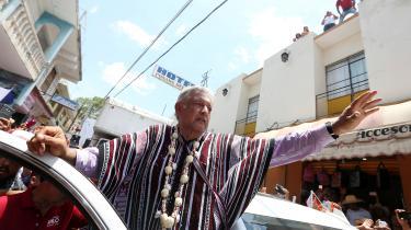 »Andrés Manuel López Obradorslogan efter valgsejren er »jeg svigter jer ikke,« og der er heller ingen grund til at mistænke AMLO for at have andet end både reelle ambitioner og stor dedikation til det politiske arbejde – AMLO er et godt valg for Mexico.« skriverJesper Løvenbalk Hansen.
