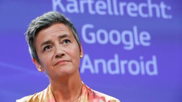 På pressemødet onsdag meddelte konkurrencekommissær Magrethe Vestager, at Kommissionen tildeler Google en bøde på 32 mia. kroner. Men bødens størrelse er formentlig ikke det største problem for tech-giganten.