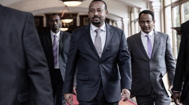 Abiy Ahmed, Etiopiens nye premierminister siden april, som allerede har gennemført reform på reform.