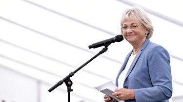 Forleden forlod en række islandske politikereAltinget iIsland, da Pia Kjærsgaard trådte på scenen som taler i form af sit embede somFolketingetsformand. Arkivfoto.