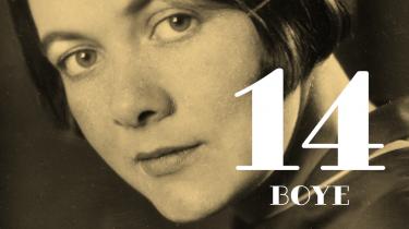 Hun er kendt for en pessimistisk science fiction-roman og for at være tidligt formuleret lesbisk feminist, men først og fremmest var Karin Boye digter