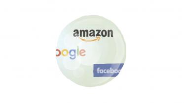 Sammen med en række udenlandske topøkonomer er Saxobanks cheføkonom og redaktøren på Økonomisk Ugebrev enige om, at en økonomisk boble kan være meget tæt på at briste. Særligt værdien af e-handelsvirksomheder som Google, Facebook og Amazon er skruet urealistisk i vejret. Samtidig skaber store amerikanske virksomheder gæld, der vokser om muligt hurtigere end deres aktiekurser