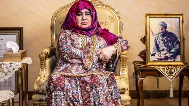Alia Ghanem er Osama bin Ladens mor.