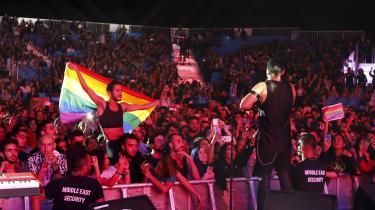 Under en koncert med det libanesiske band Mashrou' Leila i Kairo i 2017 var der pludselig regnbueflag blandt publikum. I dagene efter koncerten blev syv egyptiske mænd anholdt for flagningen.