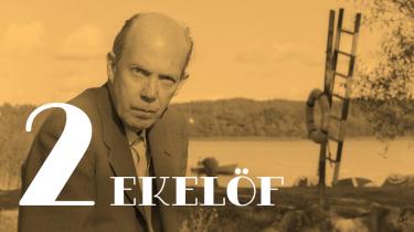 Den svenske digter Gunnar Ekelöf var sine læseres bedste ven, digternes digter, forskernes udfordring og tænkernes inspiration. Og så lærte han os at stole på ensomheden, lytte til naturen og være samtidige med oldtiden
