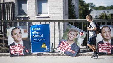 Der er valg i Sverige den 9. september.