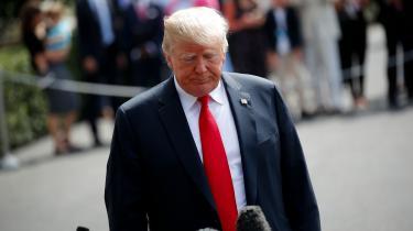 Onsdag rammer den første bølge af nye amerikanske sanktioner på baggrund af det påståede mordforsøg på Sergej Skripal. Donald Trump synes mere og mere isoleret i sin Ruslandspolitik