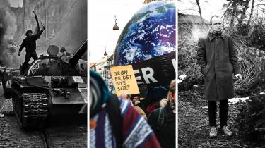 Ulrik Dahlin fortæller om den danske venstrefløjs selvopgør, da russiske kampvogne rullede ind i Prag i 1968. Erik Skyum-Nielsen kommer forbi og er begejstret over Peter Adolphsens nye roman. Og så slår Rune Lykkeberg et slag for klimamarch den 8. september!