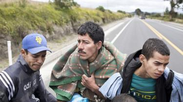 2,3 millioner mennesker har forladt Venezuela, det er syv procent af befolkningen. De er på til nabolandene Colombia, Ecuador og Peru, på jagt efter arbejde og et bedre liv. Venezuela har befundet sig i dyb økonomisk og politisk krise siden 2015. Det begyndte med faldende oliepriser, som er landets vigtigste indtægtskilde.