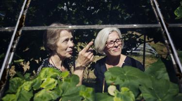 Anne Grethe Jørgensen (tv.) er initiativtager bag Bedsteforældrenes klimaaktion.