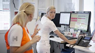 På Bispebjerg Hospital blev Sundhedsplatformen indført i foråret 2017. It-systemet nærmer sig en parodi, mener dagens kronikør.